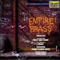 Empire Brass plays Bernstein, Gershwin & Tilson Thomas - Barry Gordon (piano); Barry Gordon (synthesizer); Bill Washer (guitar); Brian Brake (drums); David Finck (bass);...