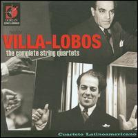 Villa-Lobos: The Complete String Quartets - Cuarteto Latinoamericano; Martin Stoss (cello maker)