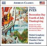 Charles Ives: Decoration Day; Fourth of July; Thanksgiving