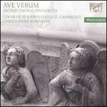 Ave Verum Sacred Choral Favourites
