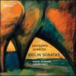 Dohn�nyi, Jan�cek: Violin Sonatas