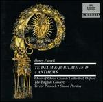 Purcell: Te Deum & Jubilate; 4 Anthems