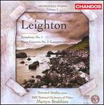 Orchestral Works 3: Symphony 1 / Piano Concerto 3
