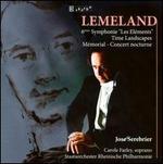 Lemeland: 6Fme Symphonie 'Les ElTments'