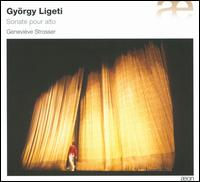 Gy�rgy Ligeti: Sonata for Viola - Genevi�ve Strosser (viola)