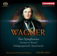 Wagner: Two Symphonies - Royal Scottish National Orchestra; Neeme J�rvi (conductor)