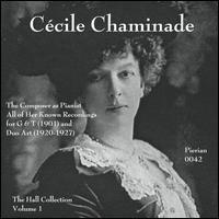 C�cile Chaminade: The Composer as Pianist - C�cile Chaminade (piano)
