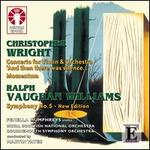 Vaughan Williams: Symphony No.5 / Wright: Violin Concerto; Momentum