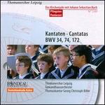 Bach: Cantatas BWV 34, 74 & 172