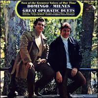 Great Opera Duets - Pl�cido Domingo (tenor); Sherrill Milnes (baritone); London Symphony Orchestra; Anton Guadagno (conductor)