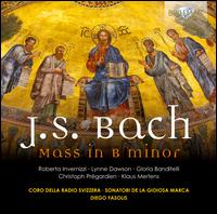 J.S. Bach: Mass in B minor - Christoph Pr�gardien (tenor); Gloria Banditelli (mezzo-soprano); Klaus Mertens (bass); Lynne Dawson (soprano);...