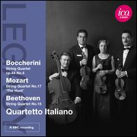 Quartetto Italiano plays Boccherini, Mozart & Beethoven - Quartetto Italiano