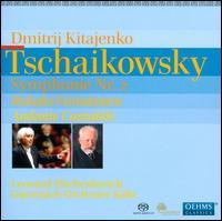 Tschaikowsky: Symphonie Nr. 2; Rokoko-Variationen; Andante Cantabile - Leonard Elschenbroich (cello); G�rzenich Orchestra of Cologne; Dmitri Kitayenko (conductor)
