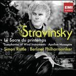 Stravinsky: Le Sacre du printemps; Symphonies of Wind Instruments; Apollon musag?te