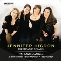 Jennifer Higdon: An Exaltation of Larks - Blair McMillen (piano); Caroline Stinson (cello); Deborah Buck (violin); Gary Graffman (piano); Kathryn Lockwood (viola);...