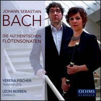 Bach: Die authentischen Fl�tensonaten - L�on Berben (harpsichord)
