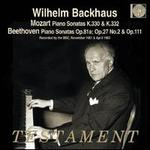 Mozart: Piano Sonatas, K. 330 & 332; Beethoven: Piano Sonatas, Opp. 81a, 27/2 & 111