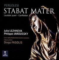 Pergolesi: Stabat Mater - I Barocchisti; Julia Lezhneva (soprano); Philippe Jaroussky (counter tenor); Coro della Radio Svizzera (choir, chorus);...