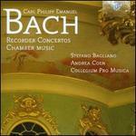C.P.E. Bach: Recordercons & Chamber Mus