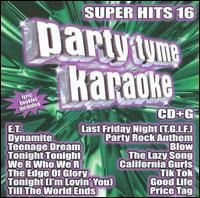 Party Tyme Karaoke - Super Hits 16 - Karaoke