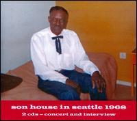 Son House in Seattle 1968 - Son House