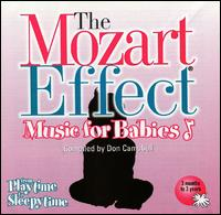 The Mozart Effect - Music for Babies, Vol. 1: From Playtime to Sleepytime - Don Campbell