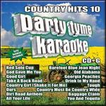 Party Tyme Karaoke: Country Hits, Vol. 10