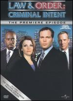 Law & Order: Criminal Intent: One -