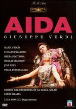 Verdi-Aida / Maazel, Chiara, Pavarotti, La Scala
