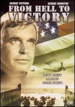 From Hell to Victory: World War II (1979) Starring George Peppard & George Hamilton [Vhs]