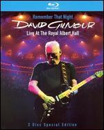 David Gilmour: Remember That Night-Live at the Royal Albert Hall [Blu-Ray]