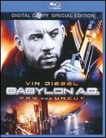 Babylon A.D. [Special Edition] [Unrated] [2 Discs] [Includes Digital Copy] [Blu-ray] - Mathieu Kassovitz