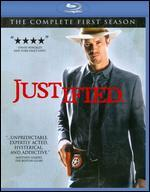 Justified: The Complete First Season [3 Discs] [Blu-ray]