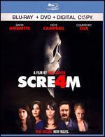 Scream 4 [2 Discs] [Includes Digital Copy] [Blu-ray/DVD]