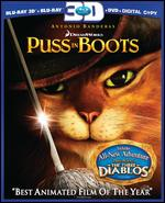 Puss in Boots [Blu-ray/DVD] [Includes Digital Copy] [3D] - Chris Miller