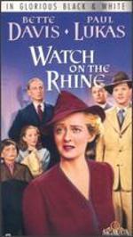 Watch on the Rhine [Vhs]