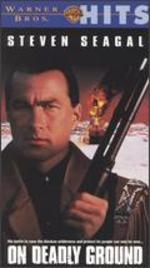 On Deadly Ground [Vhs]