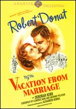 Vacation from Marriage - Alexander Korda