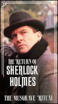 The Return of Sherlock Holmes: The Musgrave Ritual - David Carson