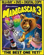 Madagascar 3: Europe's Most Wanted [Blu-ray/DVD]