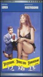 Yesterday, Today and Tomorrow, Starring Sophia Loren and Marcello Mastroianni