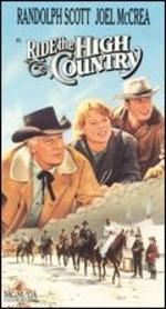 Ride the High Country [Vhs Tape]