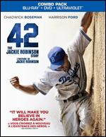 42 [2 Discs] [Includes Digital Copy] [UltraViolet] [Blu-ray/DVD] - Brian Helgeland