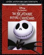 Tim Burton's the Nightmare Before Christmas-20th Anniversary Edition (Blu-Ray / Dvd Combo Pack)