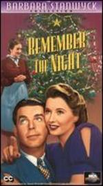 Remember the Night [Vhs]