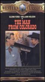 Man From Colorado [Vhs]