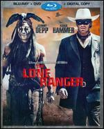 The Lone Ranger [2 Discs] [Includes Digital Copy] [Blu-ray/DVD] - Gore Verbinski