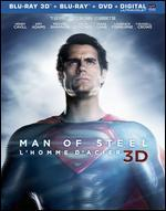 Man of Steel [3D] [Blu-ray/DVD]