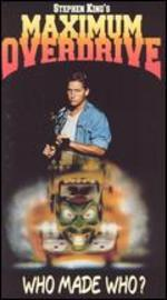 Maximum Overdrive [Vhs]
