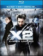 X2: X-Men United [2 Discs] [Includes Digital Copy] [UltraViolet] [Blu-ray]